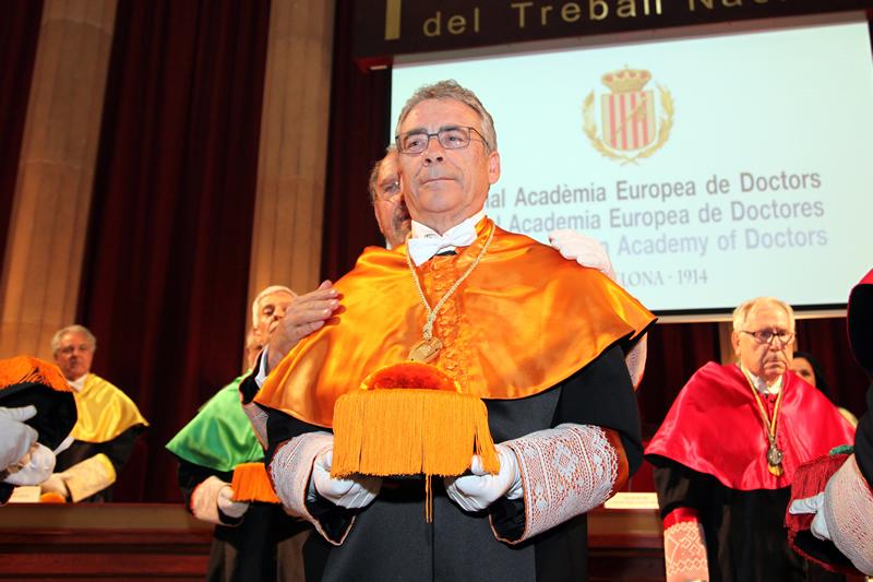 El reconocido auditor Frederic Borràs Pàmies ingresa en la Real Academia