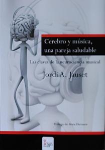 """Portada del libro """"Cerebro y Música una pareja saludable"""""""