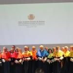 Acto de ingreso de los Premios Nobel: Christopher Pissarides, Erwin Neher y Jerome Friedman