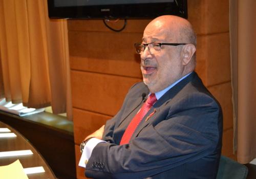 Xabier Añoveros prestenta la ponencia sobre Agustín de Betancourt