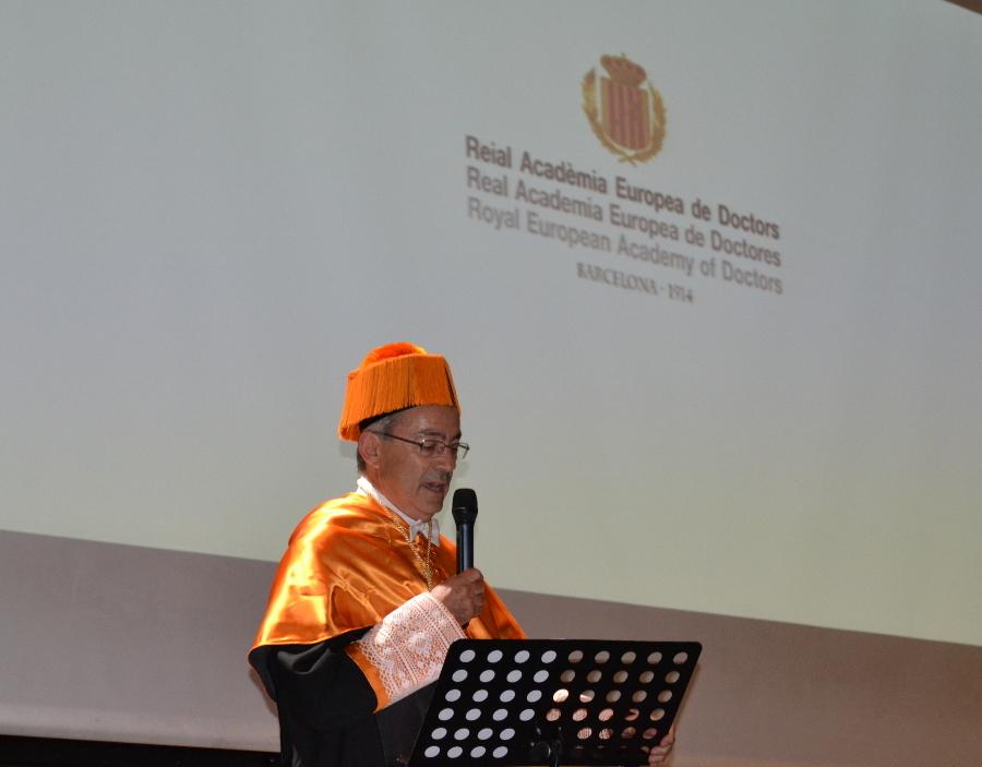 Discurso y acto de ingreso de Christopher Pissarides - III acto internacional-Baltico