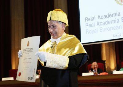 Acte d'ingrés a la RAED del Dr. Borja Corcostegui