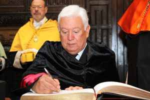 Acto de ingreso en la RAED del Dr. Jesús Gerardo Sotomayor Garza
