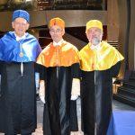 acto de ingreso: Erwin Neher, Christopher Pissarides y Jerome Isaac Friedman