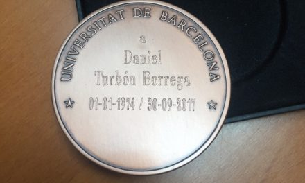 Daniel Turbón will be professor emeritus of the University of Barcelona