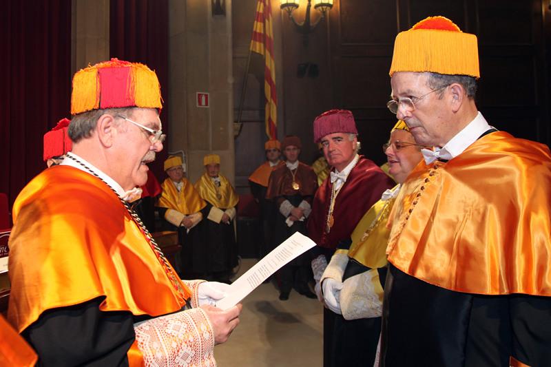 Acto ingreso del Dr. Luis Pons Puiggrós