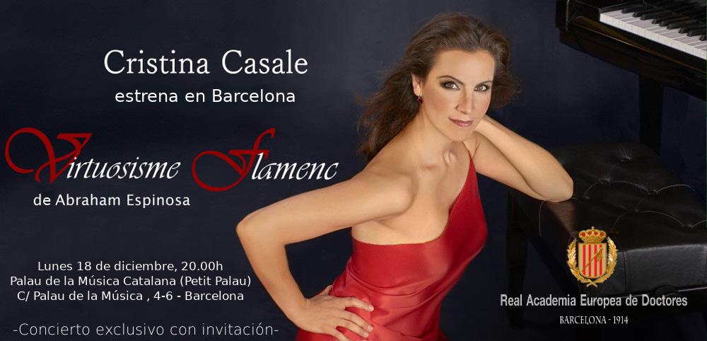 Invitación concierto piano Cristina Casale