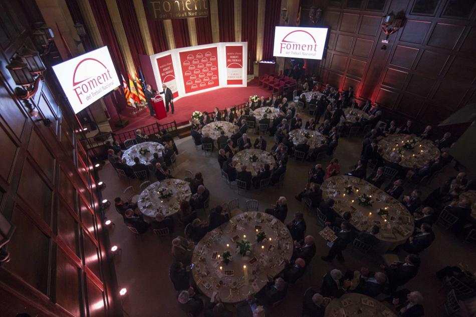premios Carlos Ferrer Salat y medallas de honor de Fomento de Trabajo