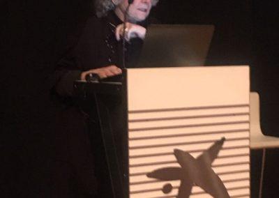 5 conferencia de Ada Yonath en CosmoCaixa