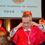 Acto de ingreso del Dr. Francisco Javier Llovera Sáez