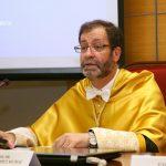 Acto de ingreso de Francisco López Muñoz