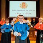 Acto de ingreso del Dr. Vicente Liern Carrión