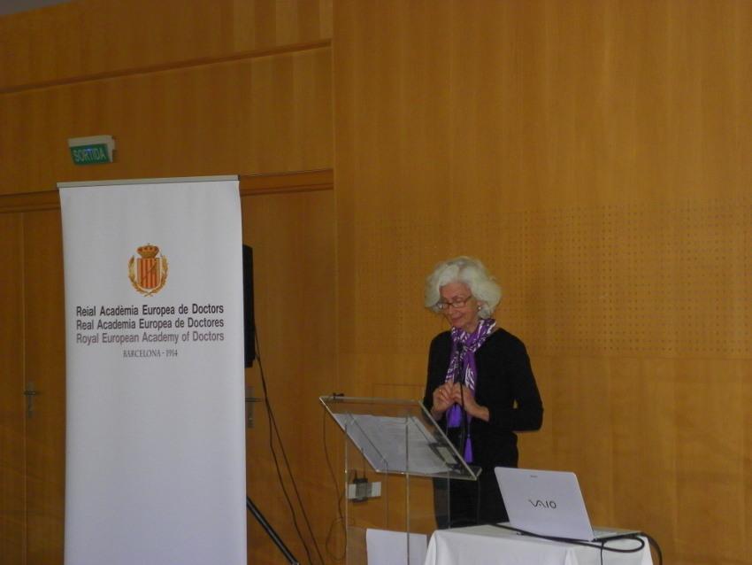 Conferencia de Rosmarie Cammany en Vichy Catalán
