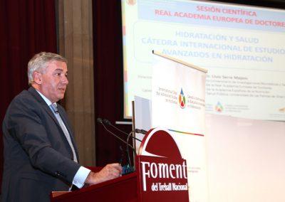 2-Dr. Lluis Serra Majem - debate Hidratación y salud en la Europa del siglo XXI