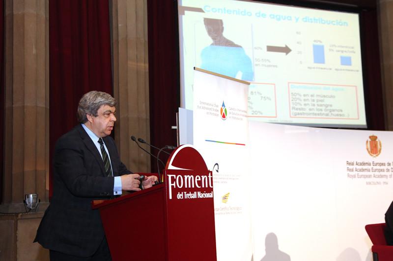 Dr. Javier Aranceta Bartrina - debate Hidratación y salud en la Europa del siglo XXI