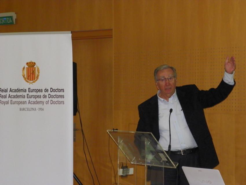 Conferencia de Jose Maria Baldasano en Vichy Catalán