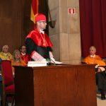 Acto de ingreso de Rodolfo Fernández Cuellas