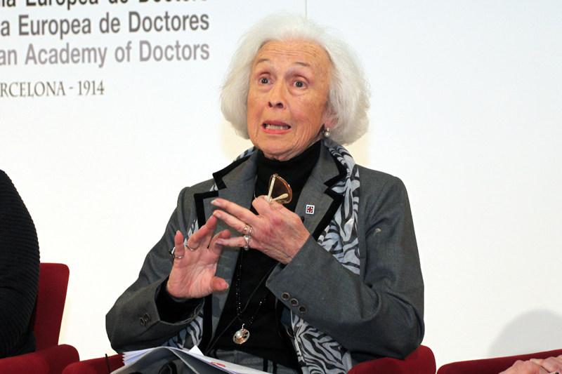 """Myrtha Casanova, en el debate """"Mujeres que cambian el mundo"""""""