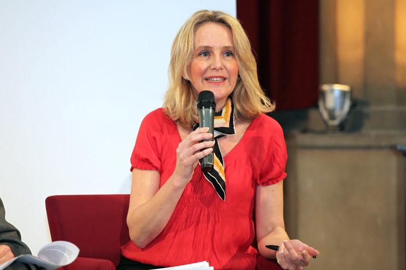 """Pollyana Nethersole, en el debate """"Mujeres que cambian el mundo"""""""