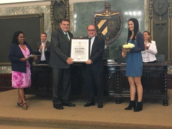 Javier Gil Mur doctor Honoris Causa Universidad Havana