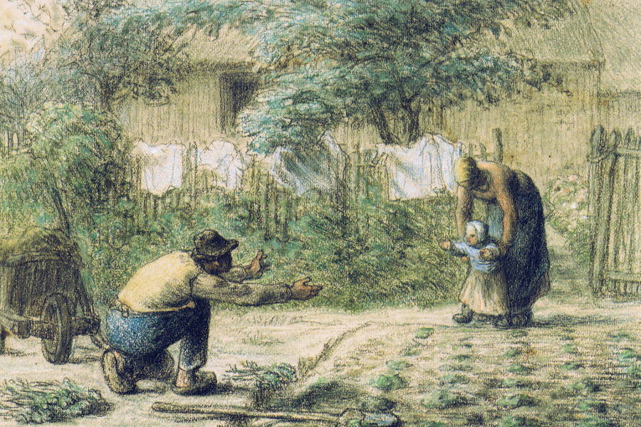 Jean François Millet - Los primeros pasos