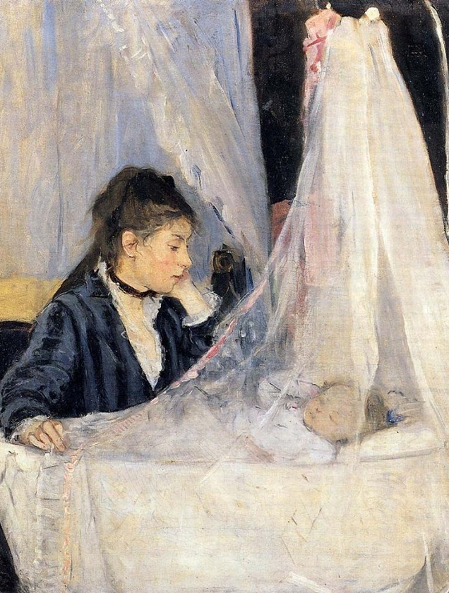 """Berthe Morisot - """"La cuna"""""""
