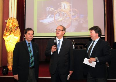 Sr. Hamdi Zaki - Dr. Alfredo Rocafort - Dr. Josep Fèlix Bentz
