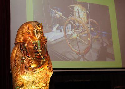 Conferencia sobre Tutankamon  en el Reial Cercle Artístic de BCN