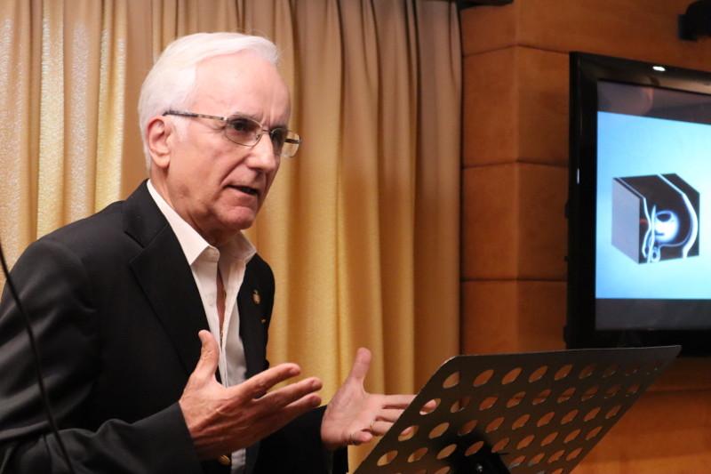Dr. Joaquim Gironella, ponencia IV acto internacional RAED