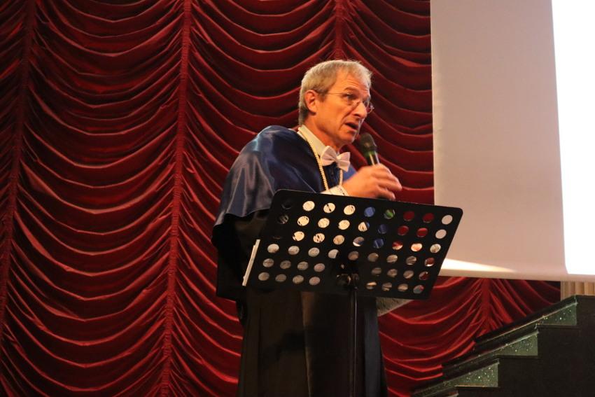 Richard Schrock acto de ingreso en la RAED