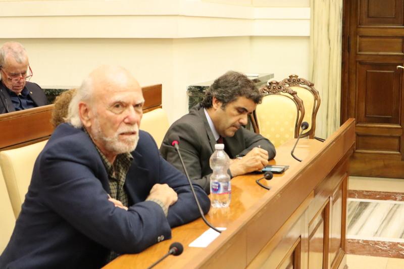 Barry Barish y Jordi Martí - Pontificia Academia de las Ciencias