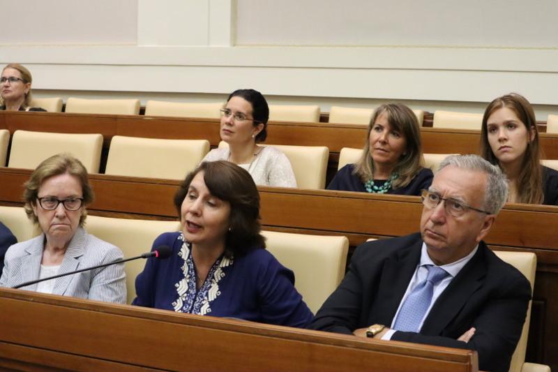 Dra. Rosalía Arteaga - Pontificia Academia de las Ciencias