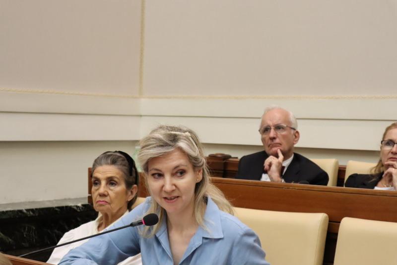 Dra. María Asunción Peiré - Pontificia Academia de las Ciencias