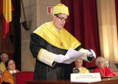 Acto de ingreso del Dr. Jesús Lafuente Baraza