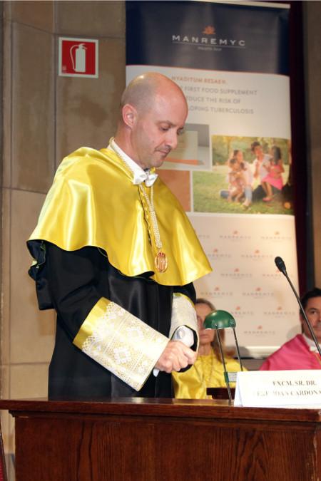 Ingreso RAED Dr. Pere Joan Cardona Iglesias