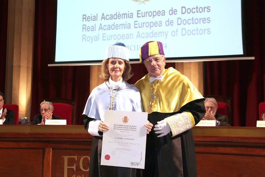 ingreso en la RAED de la Dra. Mariàngela Vilallonga Vives