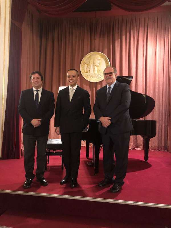 Concierto de piano por Ernest So