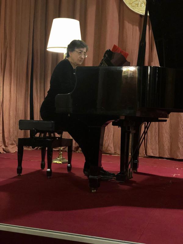 concierto de piano de Pilar Bayer