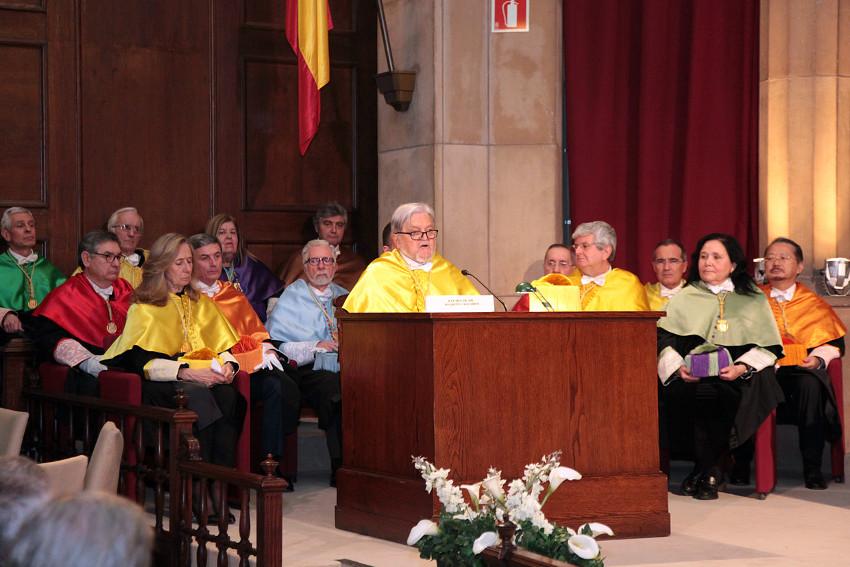 Ingreso en la RAED del Dr. Joaquín Callabed Carracedo