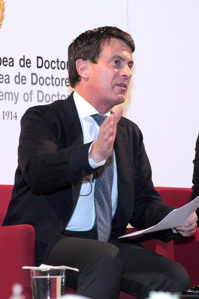 Manuel Valls - debate sobre Laicidad en Francia y España
