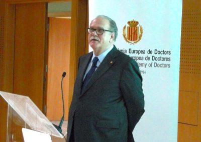 Acto academico en Vichy Catalán 02-2019 - Alfredo Rocafort