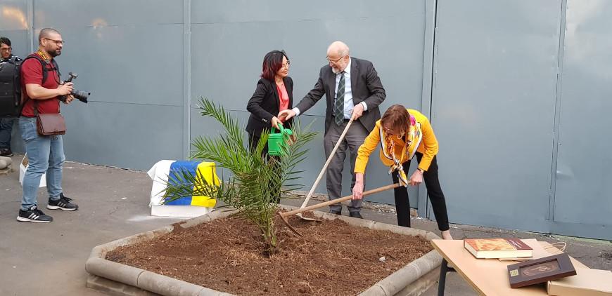 Erwin Neher en el 30 aniversario de la Universidad de Las Palmas Gran Canaria