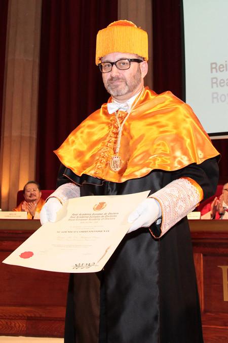 acto de ingreso en RAED del Dr. Richard Onses