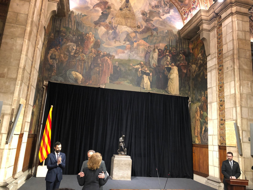 Nombramiento de Mariangela Vilallonga como Consellera de Cultura