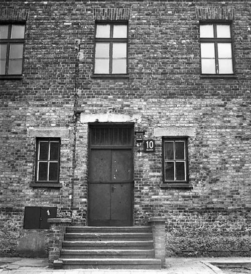 Bloque 10 del campo de concentración de Auschwitz, donde se realizaron los experimentos médicos con prisioneros