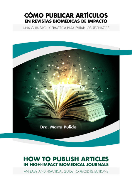 """Libro de Marta Pulido """"Como publicar artículos en revistas biomédicas de impacto"""""""