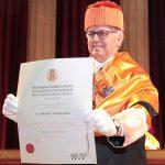 Acto de ingreso en la RAED del Dr. Aldo Olcese Santonja