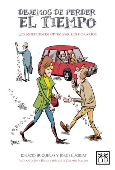 """Portada de """"Dejemos de perder el tiempo"""", libro de Ignacio Buqueras"""