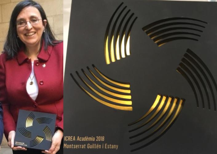 Montserrat Guillén recibe distinción ICREA