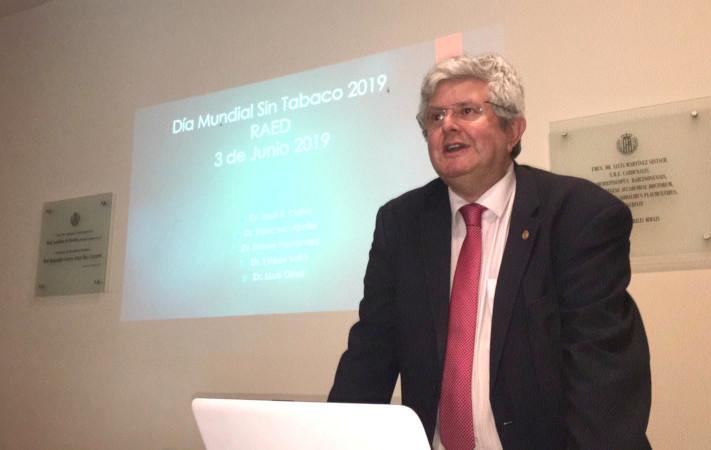 Jose Ramón Calvo, debate tabaquismo. 2019-06